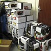 191 litres of wine and over 300,000 cigarettes seized