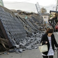 Scores of people feared buried alive after second earthquake