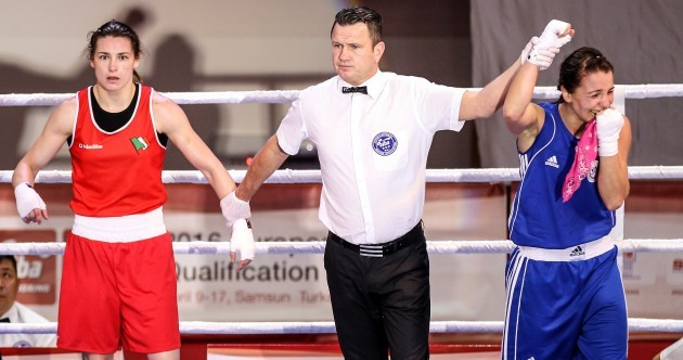 Katie Taylor suffers first loss since 2011 and will have to wait to secure Olympic place