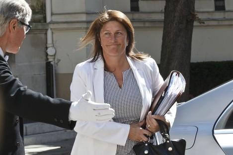 Minister of Transport Jacqueline Galant