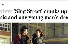 Sing Street came out in the US today and the reviews are absolutely glowing