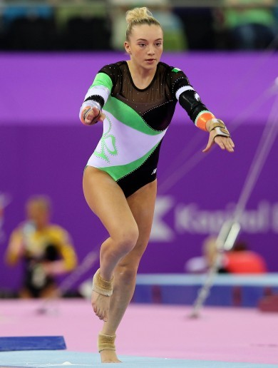 The teenage gymnast set to make history for Ireland at the Olympics