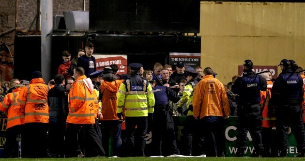 Bohemians issue statement following crowd trouble at Dalymount Park