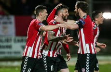 McClean's wonder strike saves high-flying Derry from defeat in Longford