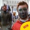 This guy turned his museum trip into one epic face-swapping session