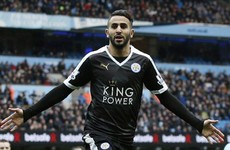 Mahrez: I didn't eat so I could play football