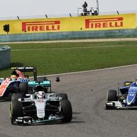 Lewis Hamilton: My car drove like a bed