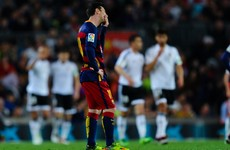 Valencia blow Spanish title race wide open as Barcelona lose 3 on the trot