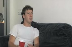 Watch a beer-drinking Mark Zuckerberg explain 'thefacebook.com'