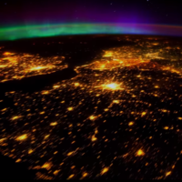 Take a break and watch the spectacular northern lights from space