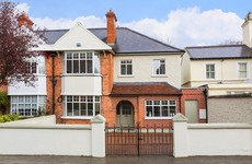 There's a gorgeous family home for sale in Ballsbridge