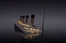 Watch this unsettling recreation of the Titanic sinking in real-time