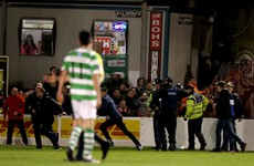 Bohemians and Shamrock Rovers hit with FAI charges after violent clashes between fans