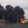 Massive explosion and fire at ESB substation caused by copper wire thieves