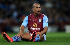 Aston Villa suspend Agbonlahor after striker is seen partying on night of relegation