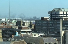 Dublin Fire Brigade were called to a fire at a disused cigarette factory