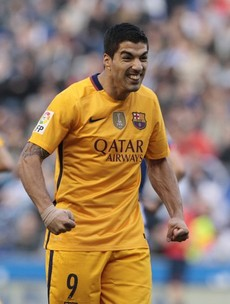 Luis Suarez was on fire tonight as he scored 4 and assisted 3 in Barca's rout of Deportivo