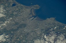 Dublin was looking very nice from space today