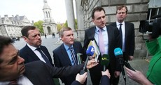 Fianna Fáil and Fine Gael finish talks for the evening, but no deal yet on Irish Water
