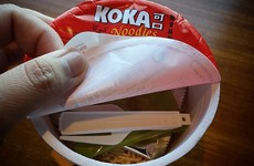 Koka Noodles are the food that keep Ireland running
