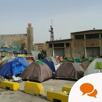 Inside the refugee camp where thousands are holding out for a better life