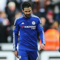 Fabregas: I 'forgot how to play football' under Mourinho