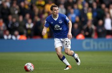 Seamus Coleman out of Everton's FA Cup semi-final with Manchester United