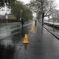 Flood-damaged DART line may reopen midweek