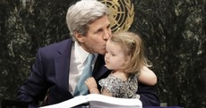 John Kerry's grand-daughter stole the show at the UN today
