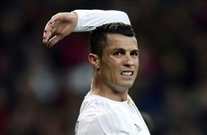 Ronaldo set to miss out on La Liga record for Real Madrid