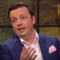 Oliver Callan tore into the political elite on last night's Late Late