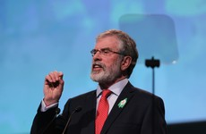 Gerry Adams: 'We are not Fine Gael or Labour. We are proud of the men and women of 1916'