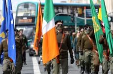 Photos: Republican Sinn Féin march down O'Connell Street for 1916 commemoration