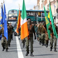 Photos: Republican Sinn Féin march down O'Connell Street for 1916 commemoration