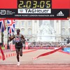 London calling - Kenyan athlete records second-fastest marathon time in history