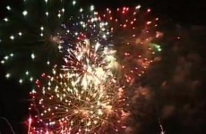 WATCH: €7,000 of fireworks let off all at once... by accident