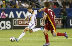 Steven Gerrard rolled the years back last night by scoring a textbook goal for the LA Galaxy