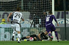 Brilliant last-minute penalty save from Buffon puts Juve on brink of Scudetto
