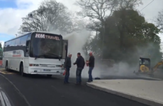 Lucky escape for schoolchildren as bus catches fire in Cork