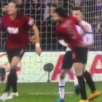 Dele Alli could find himself in trouble after appearing to punch Claudio Yacob off the ball