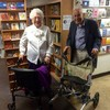 These two 90 year olds were spotted on a blind date in a bookshop and it was so adorable