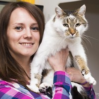 Take a break and meet the cat that went missing for six years