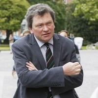 Food critic Tom Doorley tells court both his shoulders were broken after being hit by a taxi