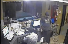 WATCH: MMA fighters subdue an armed robber