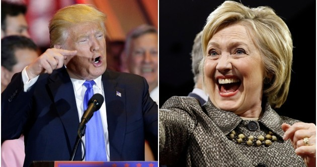 Trump and Hillary have destroyed the opposition yet again in the latest US primaries