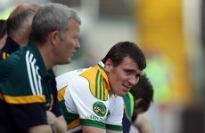 End of the road: Offaly's McManus retires from inter-county football