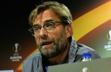 Klopp issues a word of warning to his Liverpool players ahead of Europa League semi-final