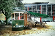 This new café in Dublin is built inside a tram and it looks class