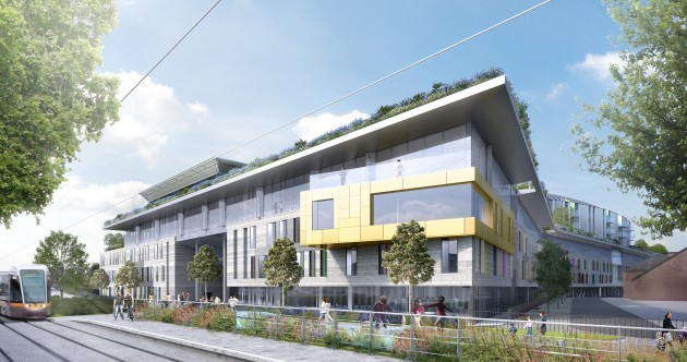 The new national children's hospital is go... but not everyone is happy about it