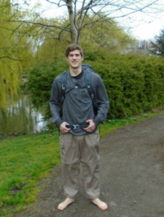 A Mayo man is starting a barefoot walk around Ireland tomorrow